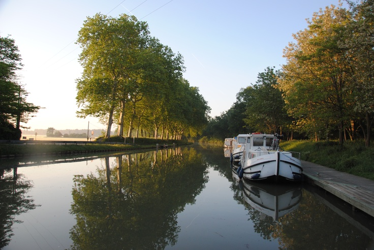 Canal de midi last year in the South of France