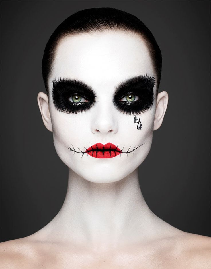 Klasse Make-Up im Dia de los Muertos-Style! http://www.langweiledich.net/2014/06/dia-de-los-muertos/