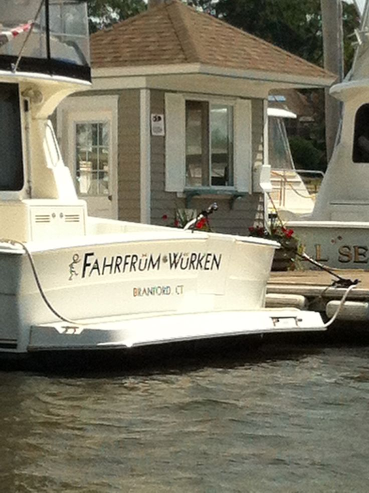German again lol boating pinterest funny boats for Funny fishing team names