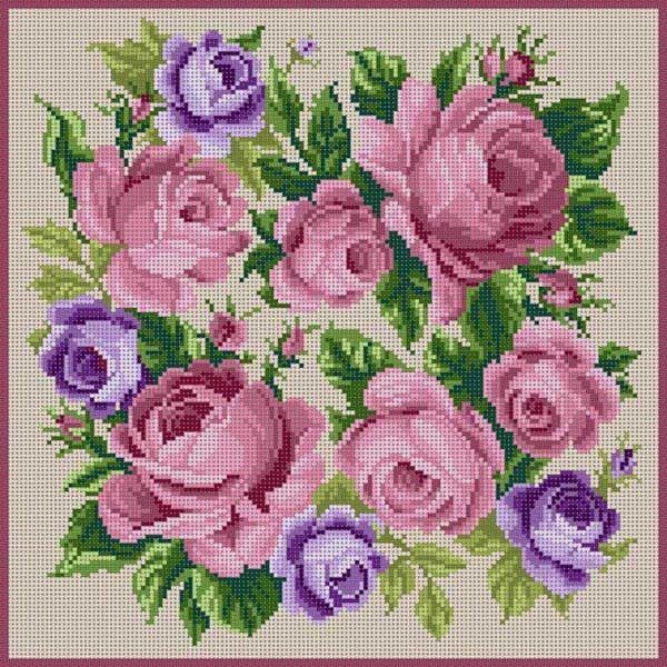 Roses Mauve