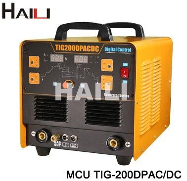 high frequency aluminum welder inverter mcu acdc TIG MMA welding machine for sale (MCU TIG-200DP AC/DC)