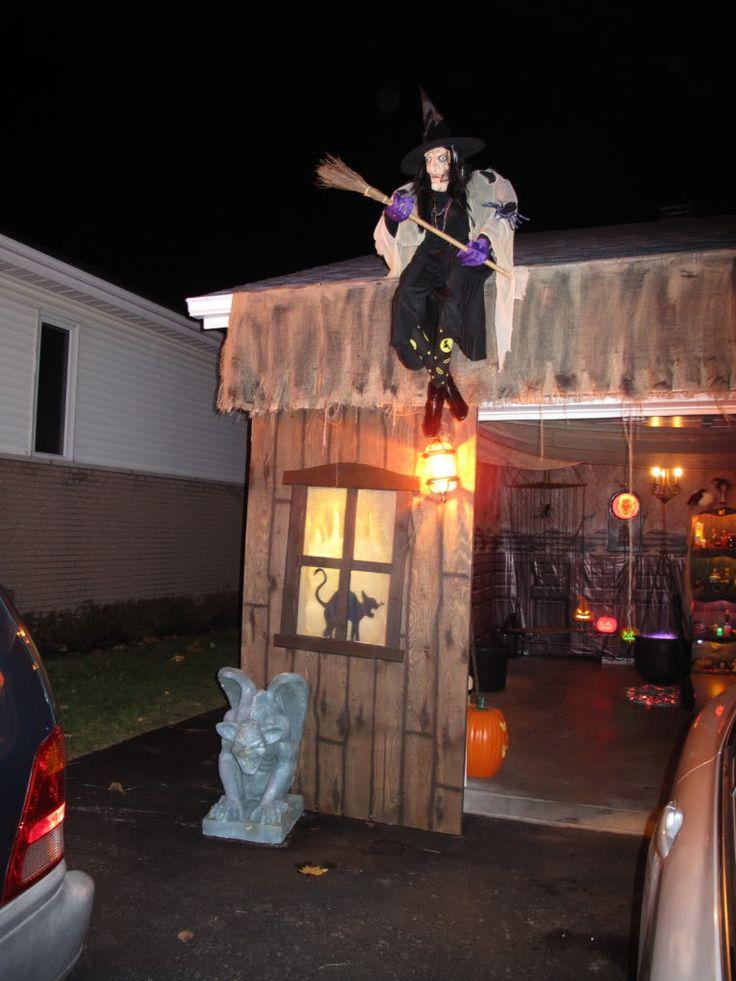356 best halloween images on Pinterest Halloween stuff, Halloween - halloween garage ideas