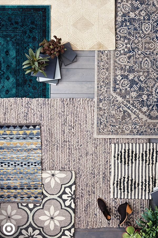 Cover up your floors and create a cozy space with the Cozy Cool Rugs Collection. Whether you like a distressed look or something more polished, these rugs have it covered with patterns and textures that give your home a fresh look with little effort.