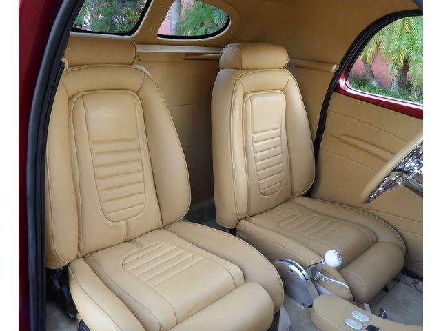 1941 willys coupe 427 v8 stoker engine leather interior incredible paint rods pinterest