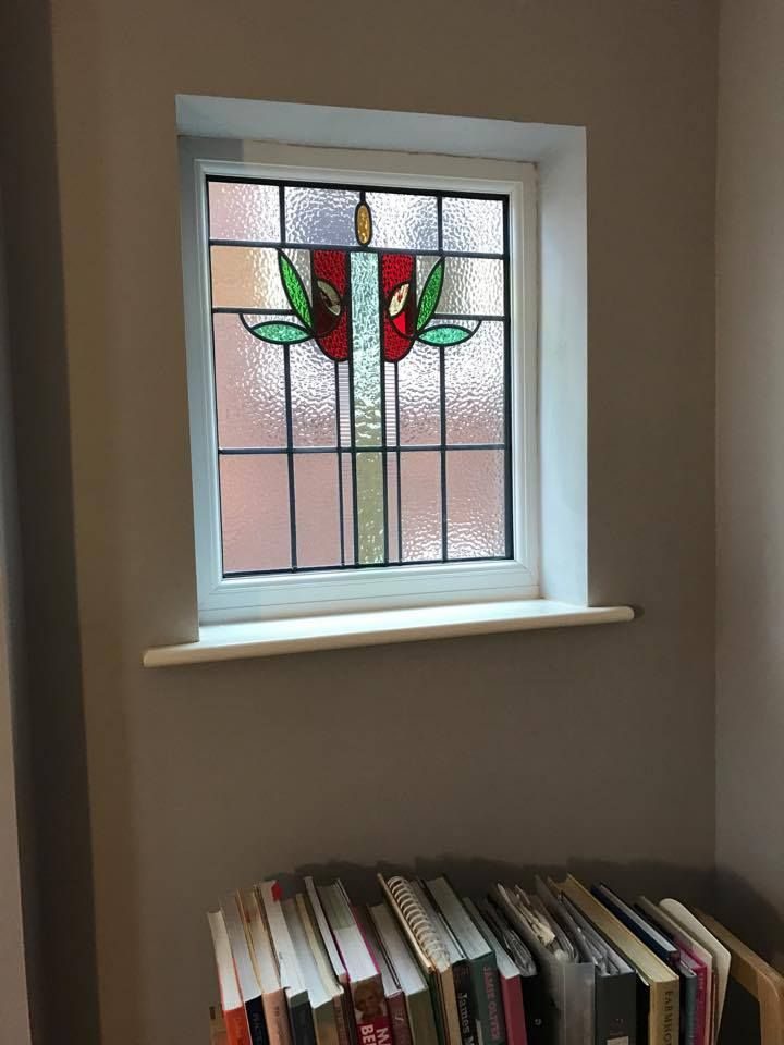 This stunning original stained glass has been encapsulated into a modern double glazed a rated glass unit, not only does it include insulating properties of double glazing but ensures the original glass detailing is preserved. For a free quotation call us on 01158 660066 visit http://www.thenottinghamwindowcompany.co.uk or pop into our West Bridgford showroom.  #stain #glass #double #glazing