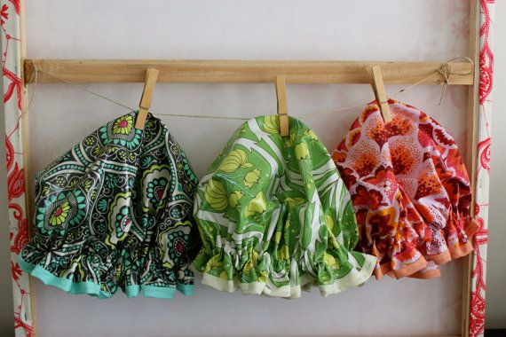 Gift Set Any 3 Shower Caps Listed. Laminated Cotton. by PureHaven, $61.99