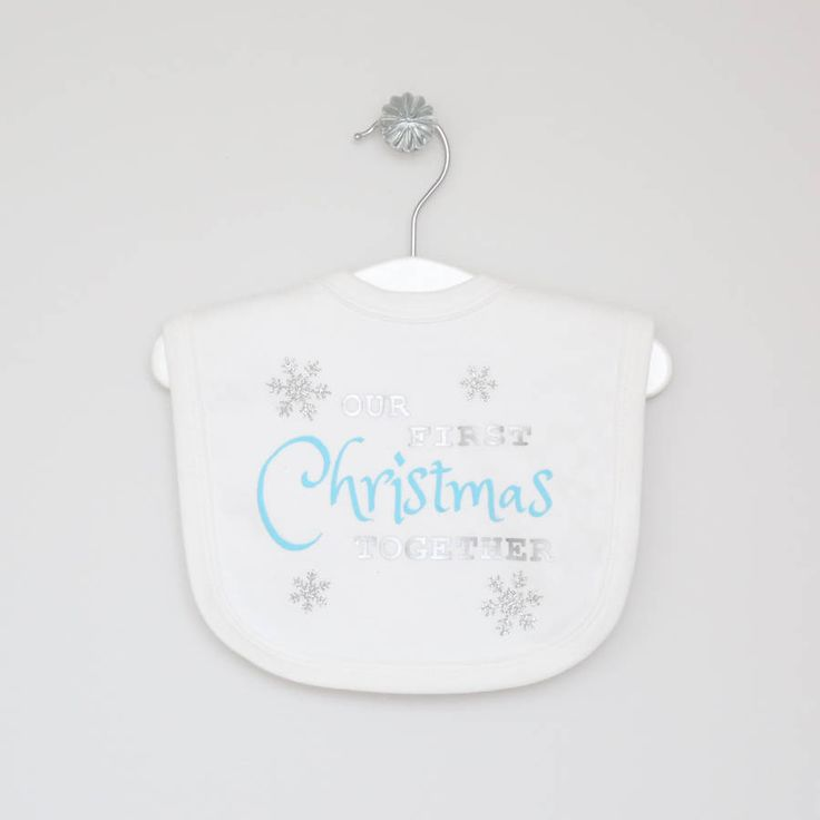 Our First Christmas Together' Bib