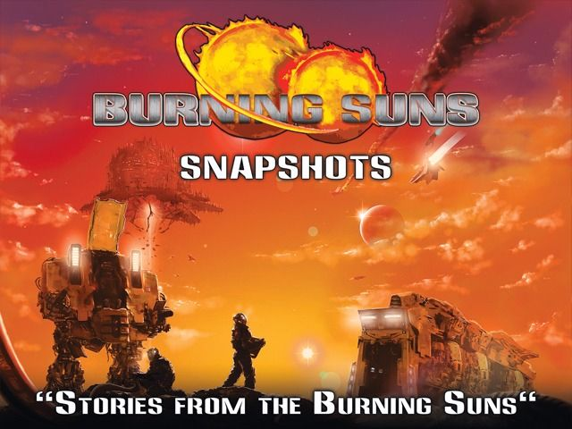 #onselz #BurningSuns #Snapshots - Stories from the Burning Suns universe