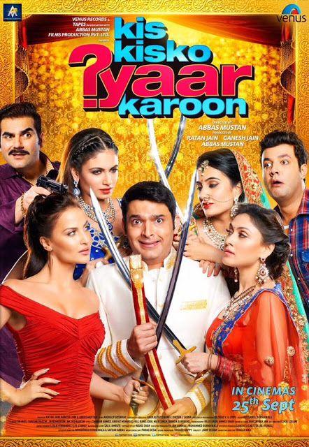 Kis Kisko Pyaar Karoon Full Movie Download! Free Download Comedy and Drama Bollywood Movie! HD DVD http://www.freedownloadedmoviez.com/2015/10/kis-kisko-pyaar-karoon-full-movie-download.html #movies #movie #hollywoodmovies #movies2015 #bollywoodmovies #comedymovies #filmhd #fullmovies #kiskiskopyaarkaroon