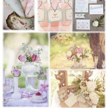 Alice in Wonderland Moodboard - www.easy-wedding.ch