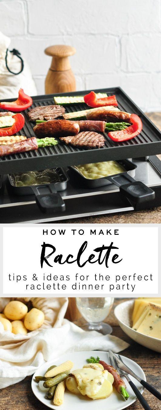 Wie mache ich Raclette?
