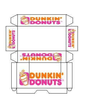 Dunkin' donuts, Donuts and Minis on Pinterest