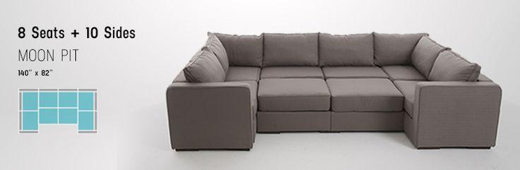 25 Best Ideas About Large Sectional Sofa On Pinterest Large Basement Furni