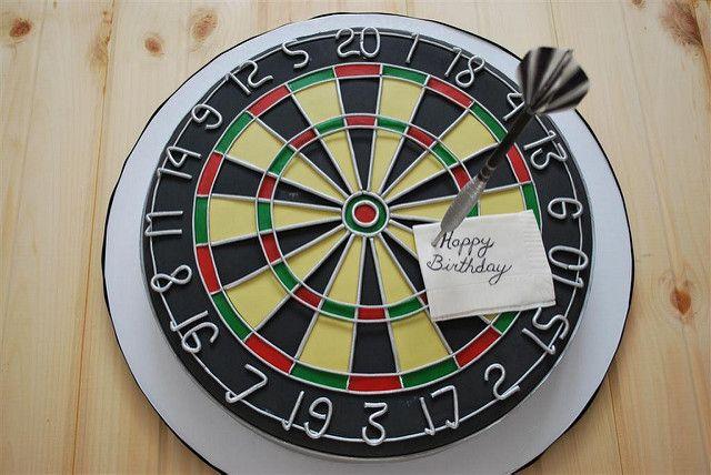 dartboard cake | Dart Board Cake | Flickr - Photo Sharing!