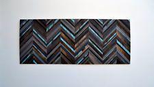 Chevron Headboard - Wood Wall Art - Wood Art Sculpture - Modern Wall Art