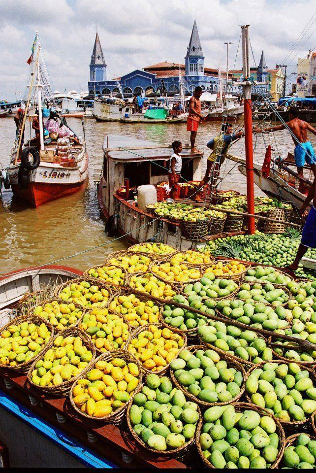 Ver-o-Peso market in Belem, Brazil