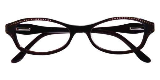 BCBG Max Azria Hadley, comes in 47 mm, progressive friendly, brown and black available