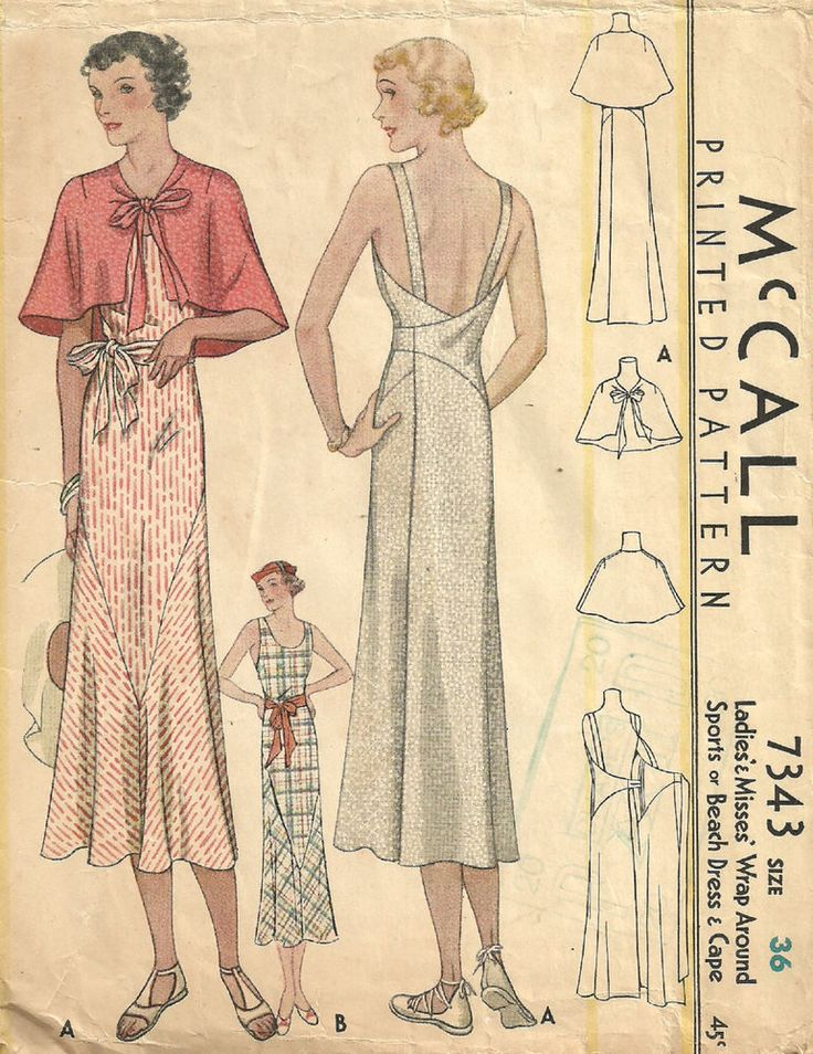 Vintage kleider 1930