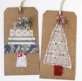 DIY #Christmastree gift tags