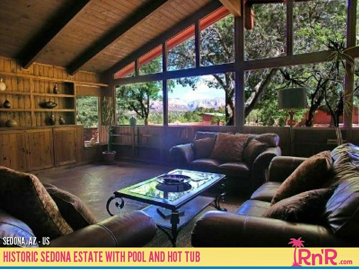 17 best images about sedona rentals tours on pinterest for Az cabin rentals with hot tub