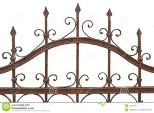 Wrought Iron Fence Colours