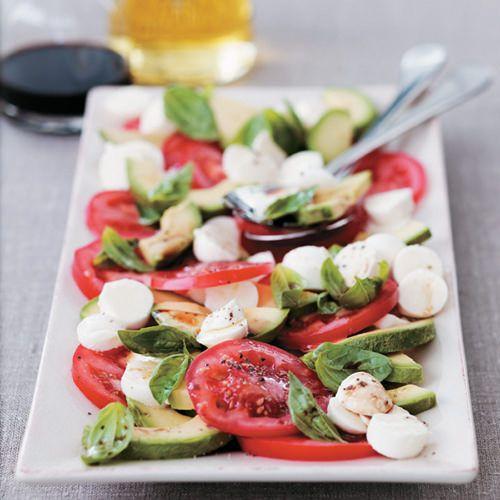 Tomatensalade met avocado - recept - okoko recepten