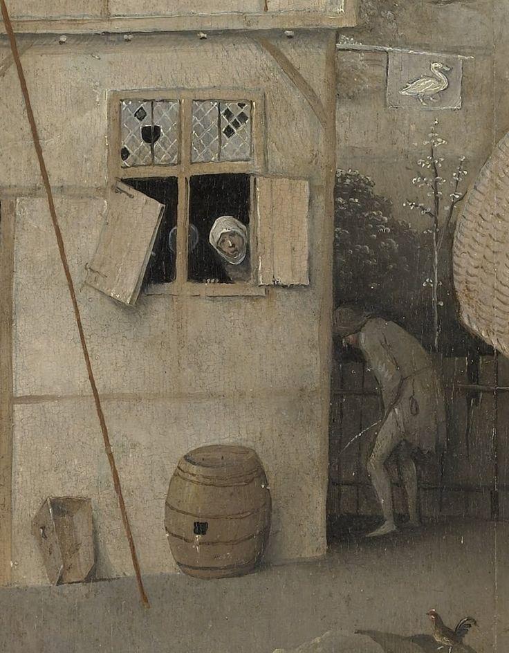 koredzas: Hieronymus Bosch - The Pedlar. Detail. 1494-1516