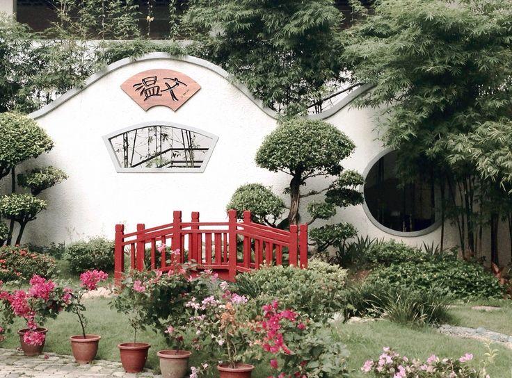 """Gentleness"" Chinese garden in CHIJ St Nicholas Girls' School Shot in Singapore on iPhone 5s"