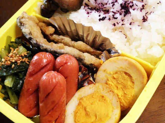 味付け玉子カレー醤油風味☆お弁当のおかずの画像