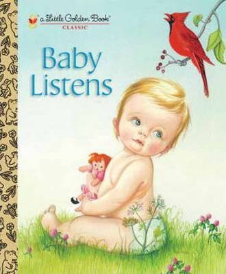 This-Little-Golden-Book-reissue-features-Wilkins-chubby-cheeked-babies-discovering-sounds-around-the-house-from-the-jingle-of-Mommys-keys-to-the-buzzing-of-Daddys-razor-Full-color