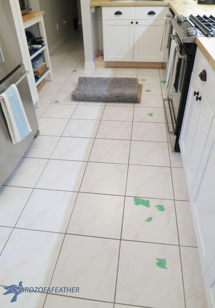 Got Chipped Floor Tile Try This Fix Tile Floor Tile Repair Flooring