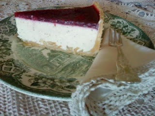 Lemon Myrtle Macadamia Cheesecake - Culinary Delights by Karen Grant