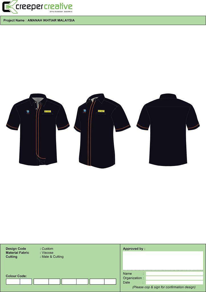 Lelaki Design Corporate Shirts Shirt Designs Corporate Uniforms
