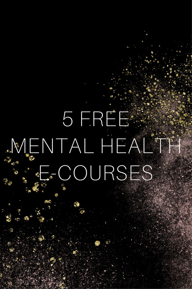 Free Mental Health E-Courses