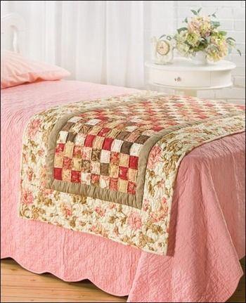 Me encanta la idea de estos corredores de cama, podría cambiar el aspecto del dormitorio todos los días