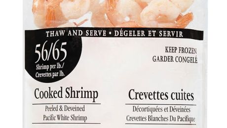 Loblaw recalling cooked shrimp packages due to bacteria risk