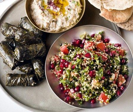 Tabbouleh Salad Recipe // Gordon Ramsey's World Kitchen cookbook // Photographer Chris Terry
