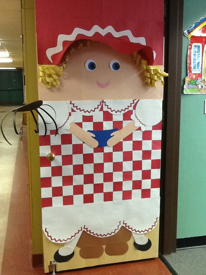 Little Miss Muffet Door Decor Pinterest Class Door