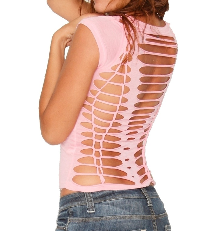 Sexy Back T Shirt Makeover Project
