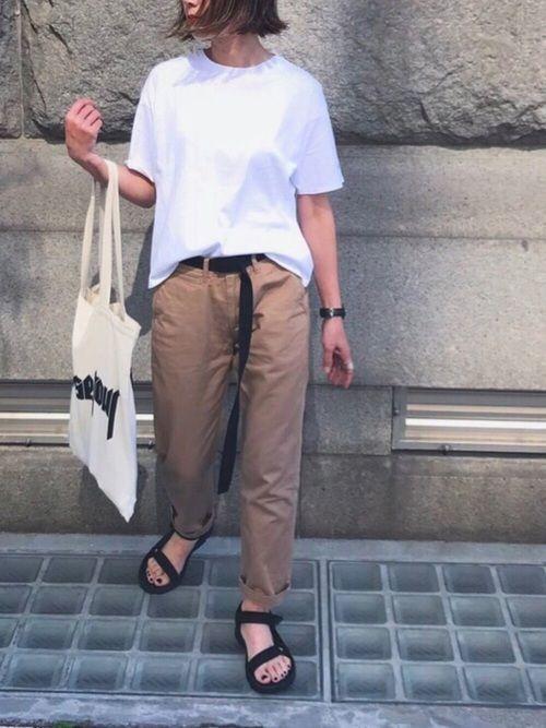 あさひ|SENSE OF PLACE by URBAN RESEARCHのTシャツ・カットソーを使ったコーディネート - WEAR