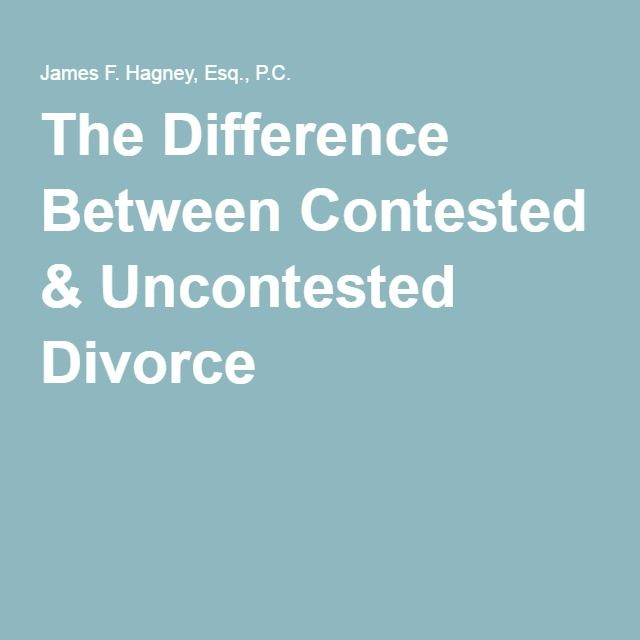 14 best uncontested divorce images on pinterest marriage divorce the difference between contested uncontested divorce solutioingenieria Gallery