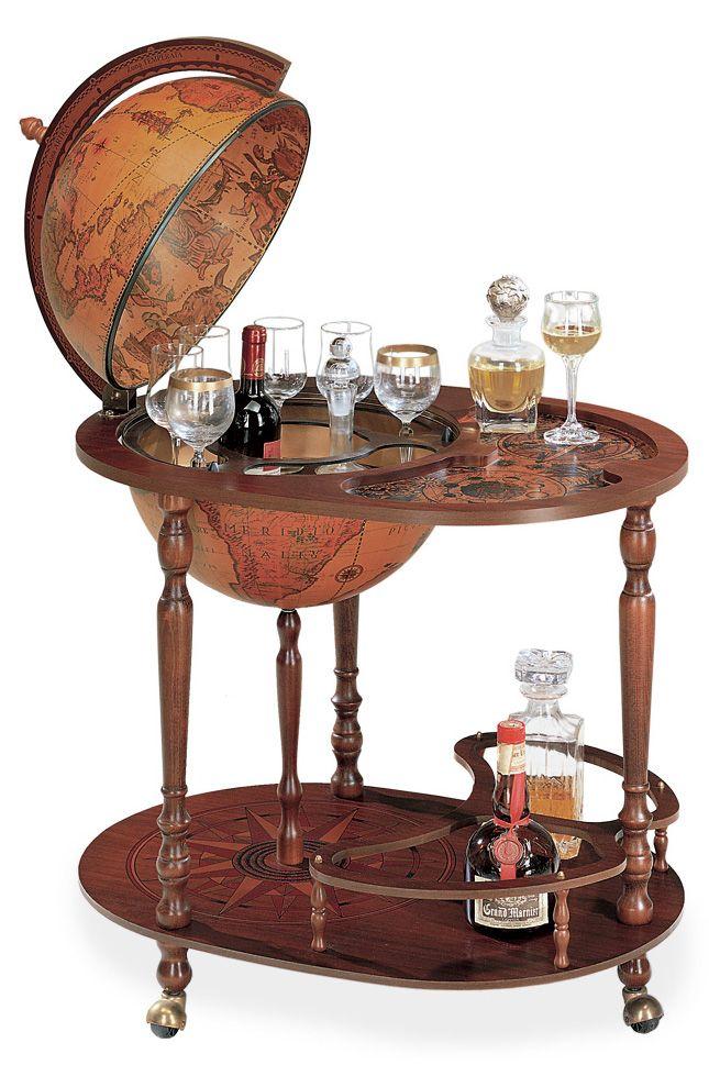 Imperial Queen Trolley Globe Bar