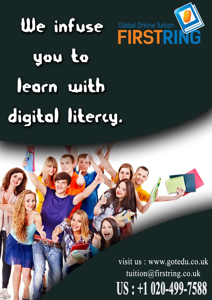 We infuse you to learn with digital litercy.  visit us : http://www.gotedu.co.uk/  Student Reg : http://gotedu.co.uk/StudentRegistration.aspx?From=Basic 02-07-2016(268)