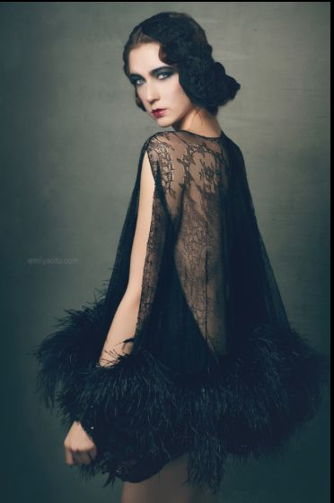 LADY in BLACK by Emily Soto