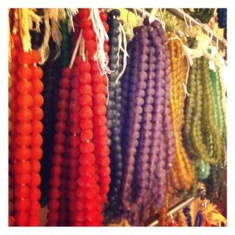 Recycled Glass Fair Trade beads available through Big Village in loose beads, strands or jewelry.  Wholesale program available also for retailers