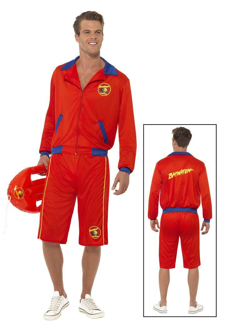 baywatch beach mens lifeguard costume - Male Costumes Halloween