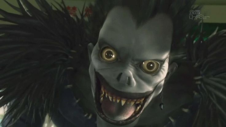 Death Note. Ryuk. Watch live-action movie in full lilywight.com/…