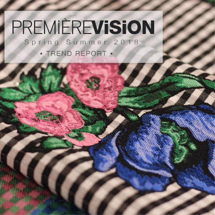 Première Vision Paris S/S 2018 TREND OVERVIEW