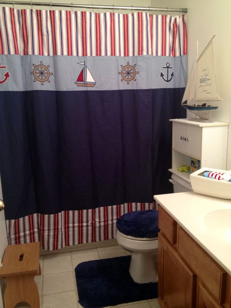 16 best images about bathroom on pinterest nautical kids for Bathroom ideas nautical