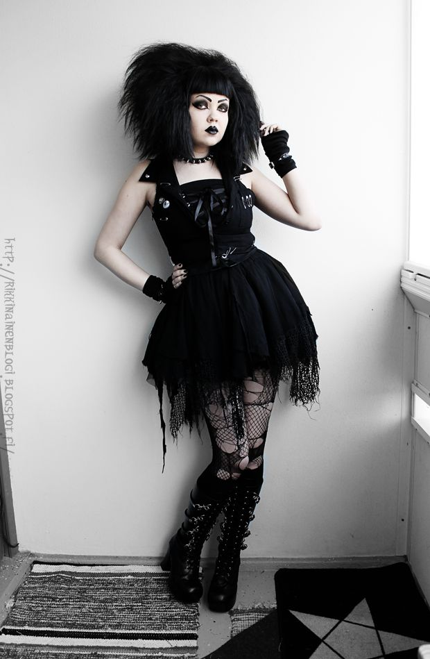 133 best Style Inspiration images on Pinterest   Goth beauty Gothic beauty and Black beauty